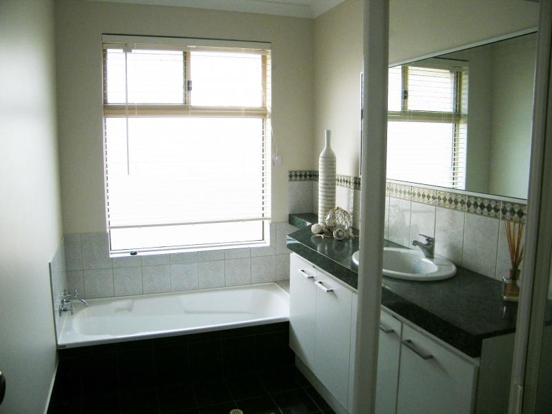 Bathroom after light