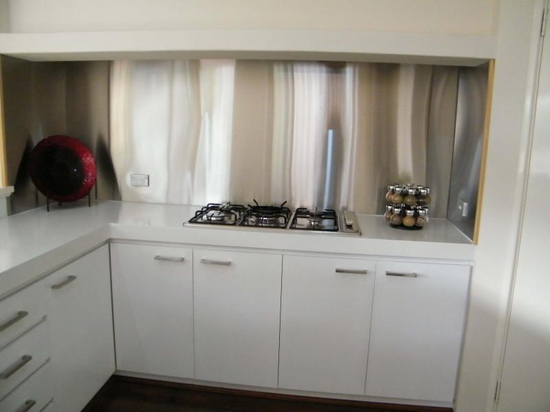 Kitchen splashback after