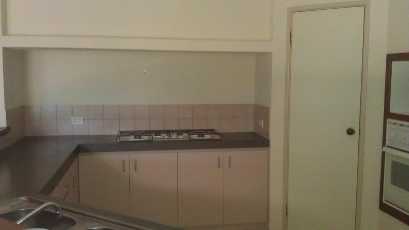 Kitchen splashback before