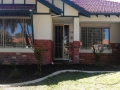 House facade after