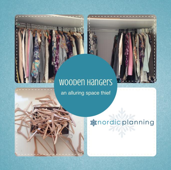Wooden coathangers