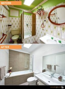 Cherie Barber bathroom makeover
