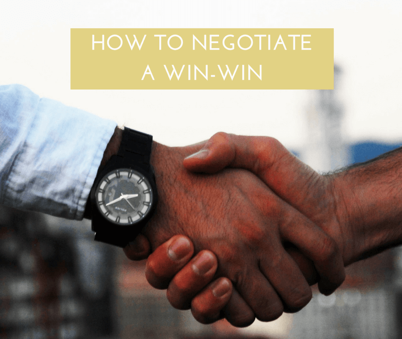 How to negotiate a win-win