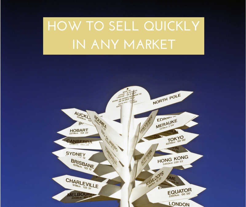 How to sell profitably in any market