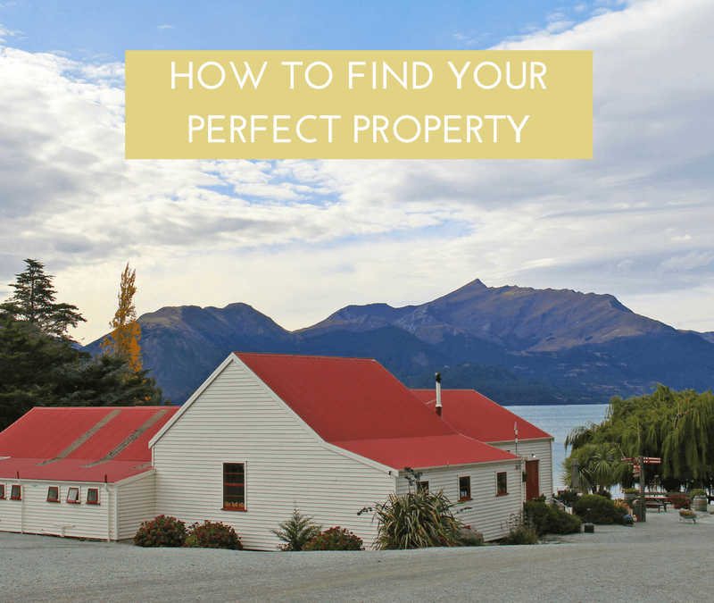 How to find your perfect property AND free up your weekends