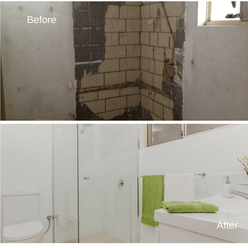 before and after ensuite