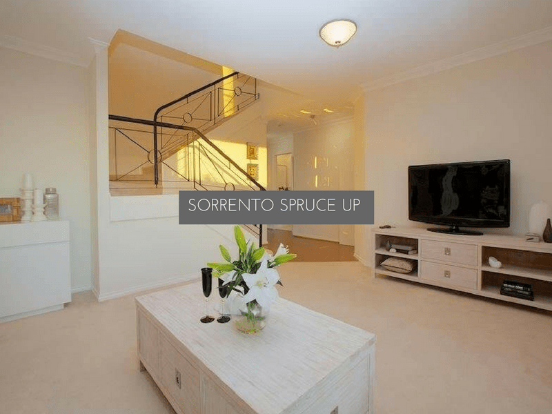 Sorrento renovation - Spruce Up For Sale