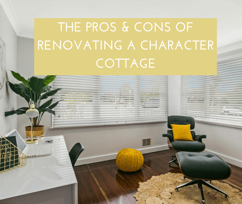 Character, cottage, renovation