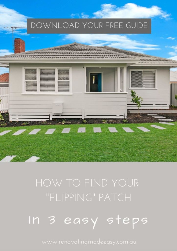 Renovating Made Easy - Finding Your Flipping Patch